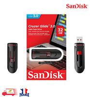 Clé USB 32 Go USB 3.0 - SanDisk Cruzer Glide SDCZ600-032G-G35