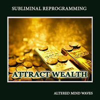Attract Wealth Subliminal CD Program - Attract Wealth Like Never Before