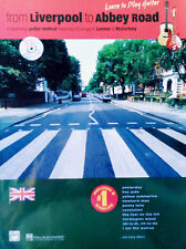 FROM LIVERPOOL TO ABBEY ROAD - BEGINNING GUITAR METHOD - SONGBOOK + CD