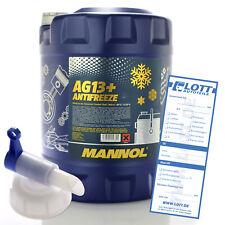 Mannol Antifreeze Kühlmittel Kühlerfrostschutz AG13+ bis -40°C 20L + Auslaufhahn