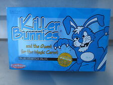 KILLER BUNNIES & THE QUEST FOR THE MAGIC CARROT BLUE STARTER PACK CARD GAME
