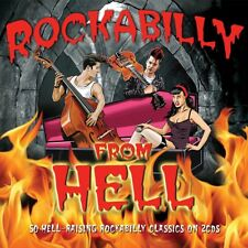 ROCKABILLY FROM HELL (LINK WRAY, THE RONDELS, GENE VINCENT, ...) 2 CD NEU