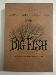 Big Fish (DVD, 2005, Special Edition with Collectible Book)