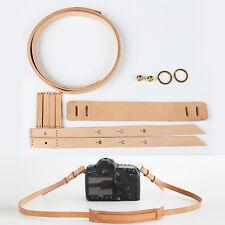 WUTA Camera Strap Precut Leather DIY Craft Meterial Template Veg Tan WT980
