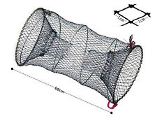 Foldable Crab Fish Crawfish Shrimp Minnow Fishing Bait Trap Cast Dip Net Cage E9