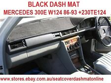 DASH MAT,DASHMAT,DASHBOARD COVER FIT MERCEDES 300E W124 86-93+230TE124 88 BLACK