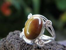 Mookaite and 925 Solid Sterling Silver Ring (Size 7, N 1/2) #190021