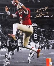 JAMEIS WINSTON Signed / Inscribed FSU Seminoles 20 x 24 Photo STEINER LE 8/13