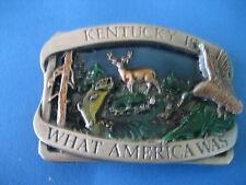 Kentucky WILDLIFE & Country Boucle De Ceinture (TB86)
