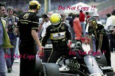Ayrton Senna JPS Lotus 98T German Grand Prix 1986 Photograph 2