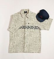 Hang Ten Men's Vintage 90's Surf Hawaiian Corduroy Shirt {Size M}