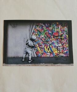 Martin Whatson Official Miami Wynwood Walls Behind The Curtain Postcard