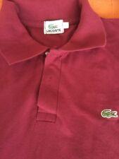 Camisa Lacoste Talla LSisa A Sisa 53.  Largo 66   Granate