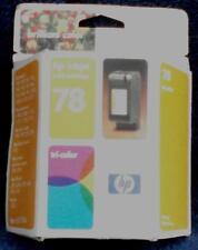 HP Inkjet Tri-Color Print Cartridge - Number 78 - BRAND NEW IN BOX