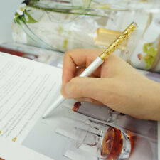 Golden Foil Pen With Swarovski Crystal Ballpoint Pen Environmental-friendly Ink