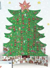 Where's WALLY Christmas Stand Up 3D Advent Calendar Caltime 315x410x315mm