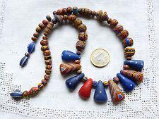 Antique polychrome Kiffa Beads, Mauretania -  COLLECTORS ITEM