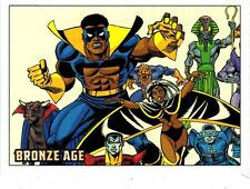 Marvel Bronze Age 81 card base set + P1 and wrapper