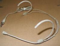New Cardioid directivity Headset Hook Microphone Mic For Sennheiser ew 100 300
