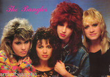 POSTER : MUSIC : BANGLES  - ALL 4 POSED - FREE SHIPPING !  #AA241  RAP22 B