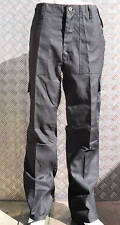 "Black Military Style Combat  Cargo / Utility / Field Trousers Size 38""-42"" - NEW"