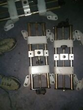 hunter front end alignment machine wheel clamps set of 4