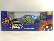 Nascar Jeff Gordon #24 Peanuts Chevy In Lite Blue 1:24 Scale Diecast Hasbro 2000