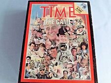 """BOARD GAME """"TIME"""" (MAGAZINE) 1983~ ABOUT=SPORTS~PEOPLE~EVENTS~PLACES~ARTS~ USA!"""