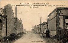 CPA MILITAIRE Bataille de la Marne-Lenharrée, Fére-Champenoise (317534)