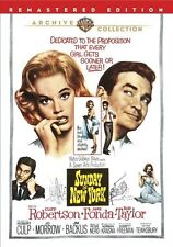 Sunday In New York 1963 (DVD) Cliff Robertson, Jane Fonda, Rod Taylor - New!