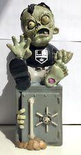 "Los Angeles Kings Nhl Logo 9"" Figurine Gnome Zombie Money Bank"