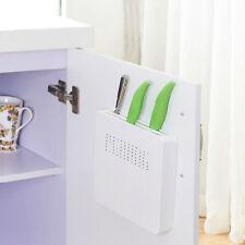 Hidden Safe Storage Knife Sharpener Rack Holder Tray/Cabinet Door Wall Mount