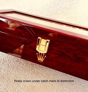 Rolex Watch Box ( Slight Damage Hence Low Price ) Ltd Edition