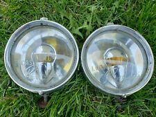 Vintage pair of Lucas Ranger spot/fog/driving light made in England