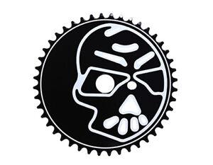 ORIGINAL Lowrider Steel Chainring Skull 1/2 X 1/8 44t Black/White Bikes BMX