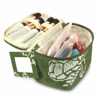 Travel Cosmetic Makeup Toiletry Organiser Carry Bag Storage Case Green Turtle