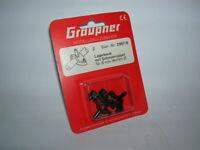 Graupner Lagerbock mit Schmiernippel für 8 mm Wellen-Ø (2 Stück) Art 2997.8