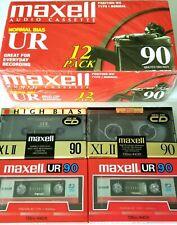 Maxell XL-II 90-minute Blank Audio Cassette