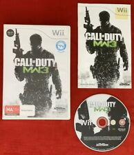 Call Of Duty Modern Warfare 3 Game for Nintendo Wii / Wii U PAL Complete