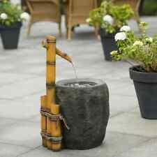 Ubbink Conjunto Fuente de Agua para Jardín Pigadia Estanque Decoración Patio