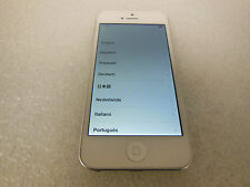 Apple iPhone 5 16GB A1428 (AT&T) *white/Silver* (*DEFECT*) (42102)