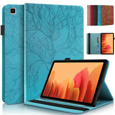 """Leather Wallet Stand Case Cover For Samsung Galaxy Tab A7 10.4"""" 2020 T500 T505"""
