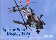 Jahrbuch Yearbook Apache Solo Display Team 2011-2012, Royal Netherland Air Force