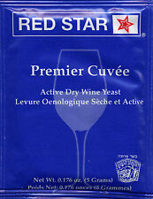 Red Star Premier Cuvee Wine Yeast, 5g - 10-Pack
