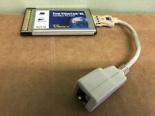 3com 3C757tx Etherlink III Lan PC Card for 10BASE-T PCMCIA w/ Cable Dongle