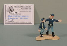 Tuniques Bleues couple mini statuette metal Decotoys 20003 numerote