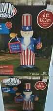 Gemmy 6ft. Uncle Sam Inflatable