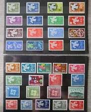 CEPT EUROPA 1961 ANNEE COMPLETE EN NEUF** TB cote Yvert € 59 aa/ceptc1961