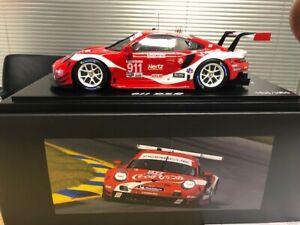 Spark Porsche 911 RSR 991 2019 Petit Le Mans WEC Coca Cola 1/18 Dealer LE1000