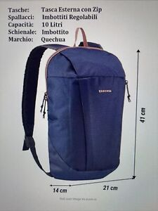 Quechua Arpenaz 10 light travel backpack
